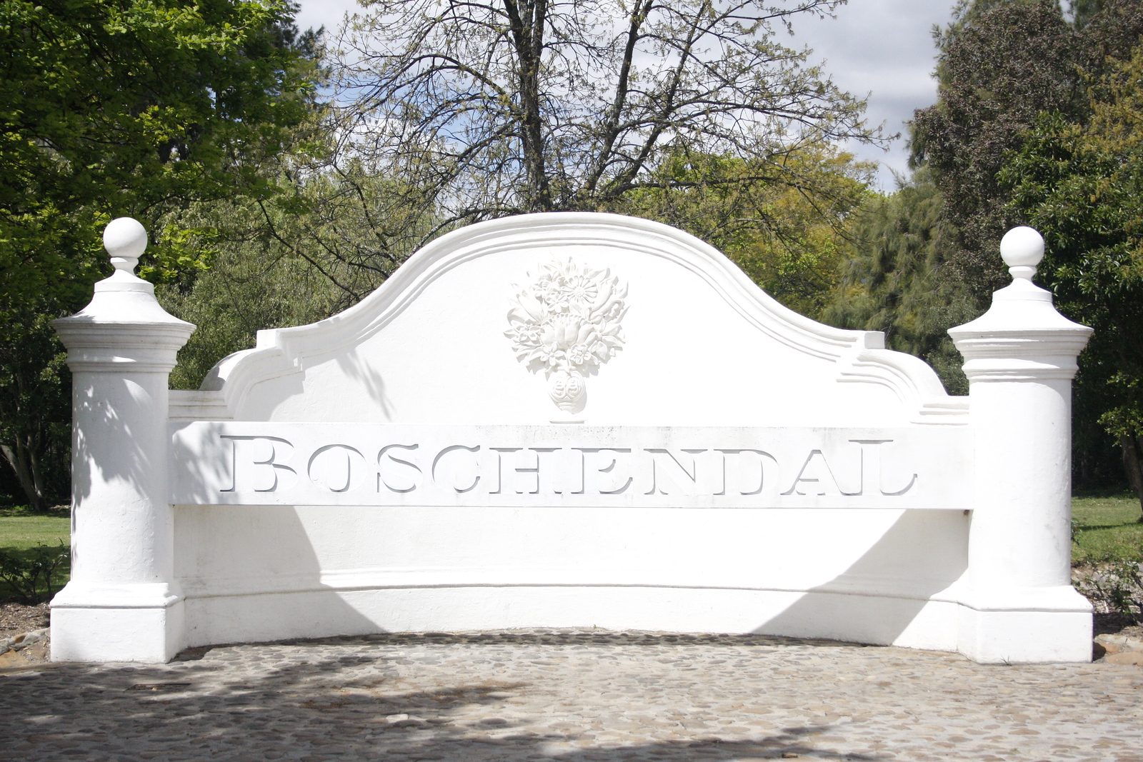 Next stop was Boschlendal which we just looked around and kept going.